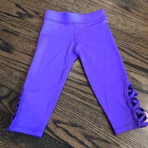 Dori Creations Criss Cross Capri- Purple